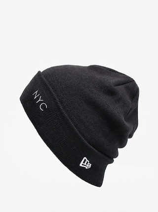 u010ciapka New Era Nyc Cuff Knit (black/optic white)