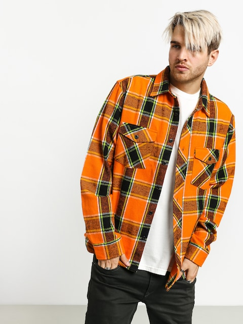 Košeľa Stussy Ace Plaid (orange)