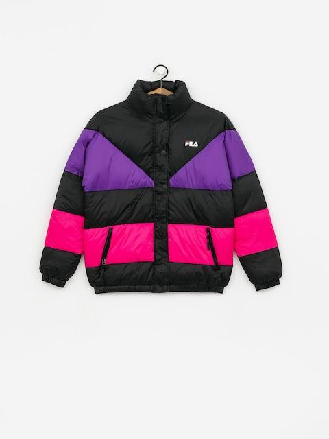 Bunda Fila Reilly Wmn (black/tillandsia purple/pink yarrow)