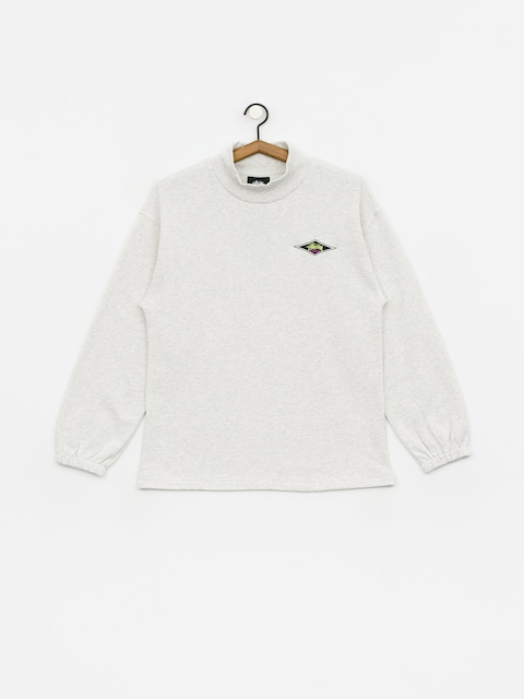 Mikina Stussy Benton Terry Mock Wmn (ash heather)