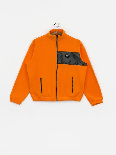 Flísová mikina Local Heroes Orange Fleece Zip Wmn (orange)