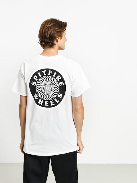 Tričko Spitfire Og Circle (white/black)
