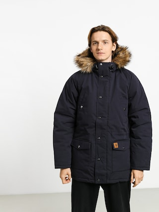 Bunda Carhartt WIP Trapper Parka (dark navy/black)