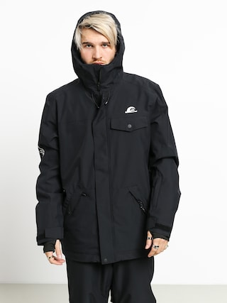 Snowboardová bunda Quiksilver In The Hood (black special art)