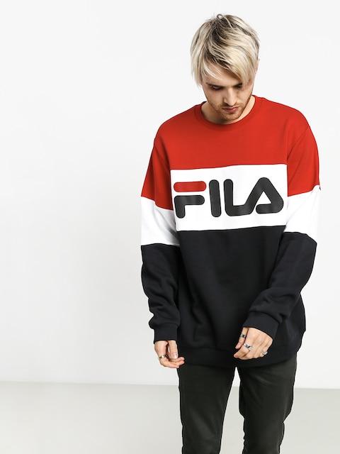 Mikina Fila Straight Blocked (true red/black/bright white)