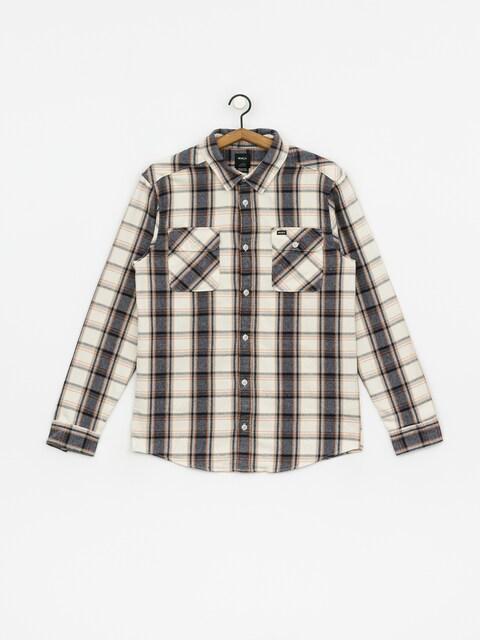 Košeľa RVCA Thatll Work Flannel (silver bleach)