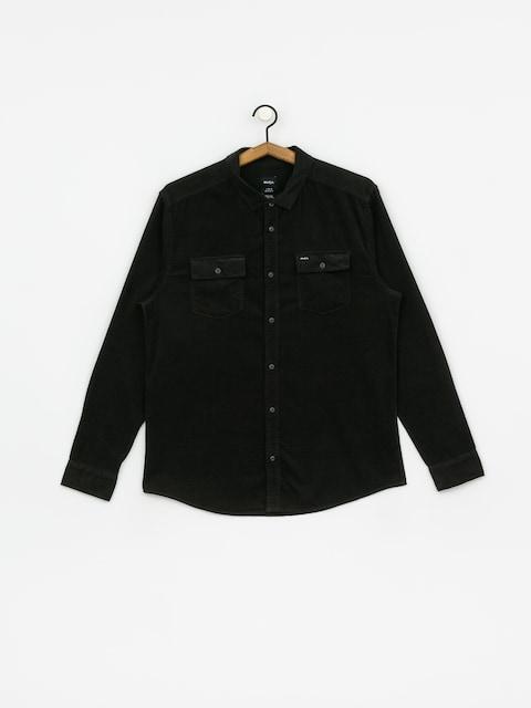 Košeľa RVCA Freeman Cord Ls (pirate black)