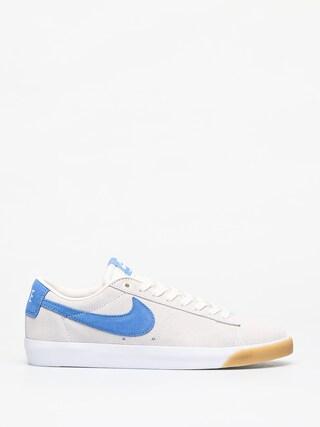 Topu00e1nky Nike SB Blazer Low Gt (pale ivory/pacific blue white)