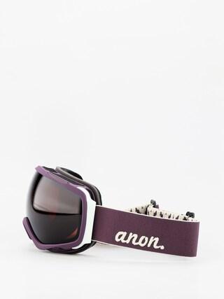 Okuliare na snowboard Anon Tempest Wmn (purple/sonar smoke)