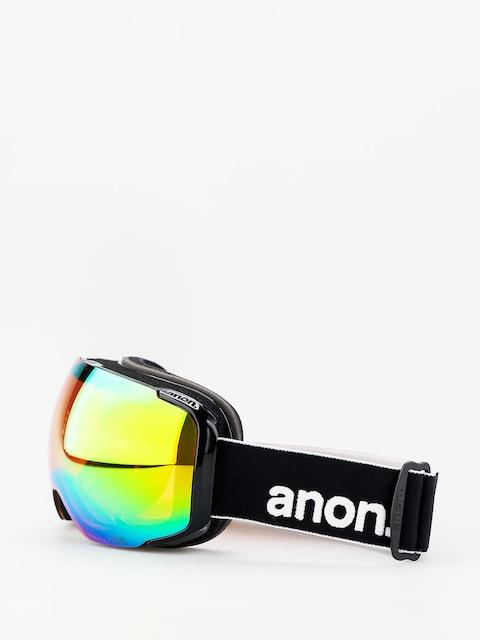 Okuliare na snowboard Anon M2 W Spare (black/sonar green)