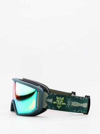 Okuliare na snowboard Anon Relapse (deermtn/sonar green)