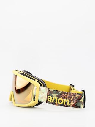 Okuliare na snowboard Anon Relapse (camo/sonar bronze)