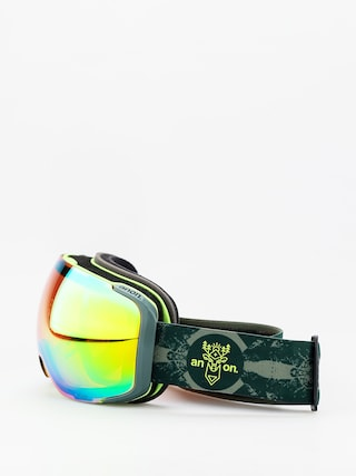 Okuliare na snowboard Anon M2 W Spare (deermtn/sonar green)