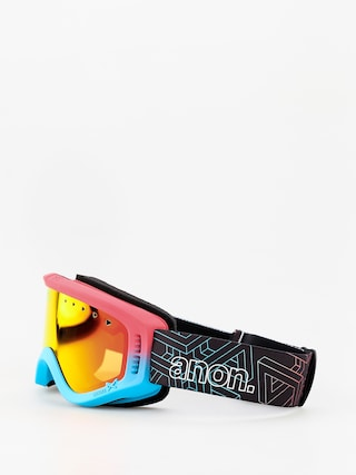 Okuliare na snowboard Anon Tracker (impossible/red amber)