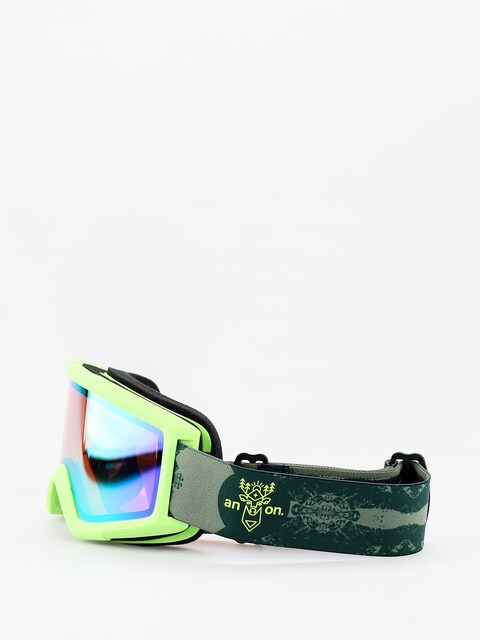 Okuliare na snowboard Anon Helix 2 Sonar W Spare (deermtn/sonar green)