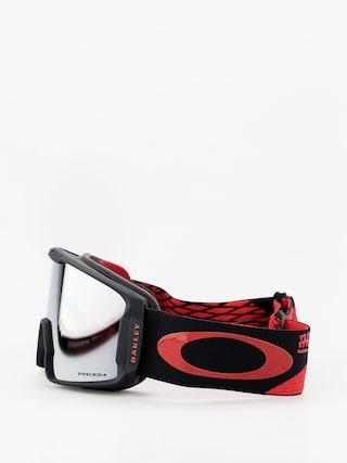 Okuliare na snowboard Oakley Line Miner (harlaut sig shredbot red black/prizm snow black iridium)