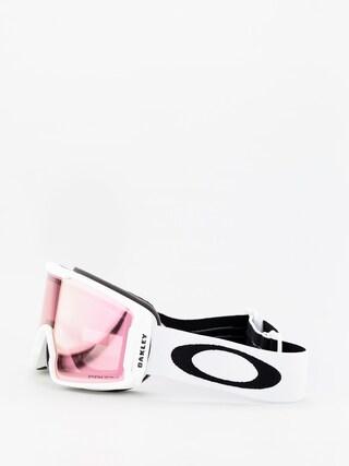Okuliare na snowboard Oakley Line Miner Xm (matte white/prizm snow hi pink iridium)
