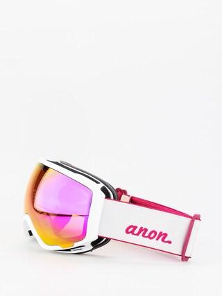 Okuliare na snowboard Anon WM1W Spare Wmn (pearl white/sonar pink)