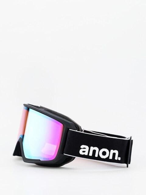 Okuliare na snowboard Anon M3 W Spare (black/sonar green)