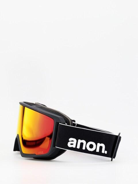 Okuliare na snowboard Anon M3 W Spare (black/sonar red)