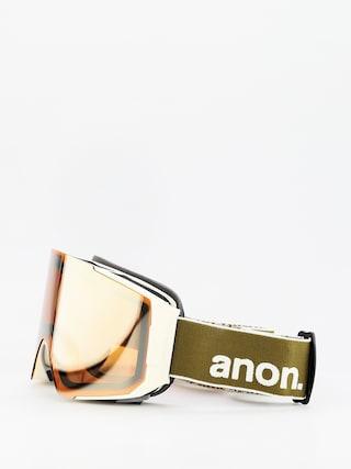 Okuliare na snowboard Anon Sync (olive/sonar bronze)