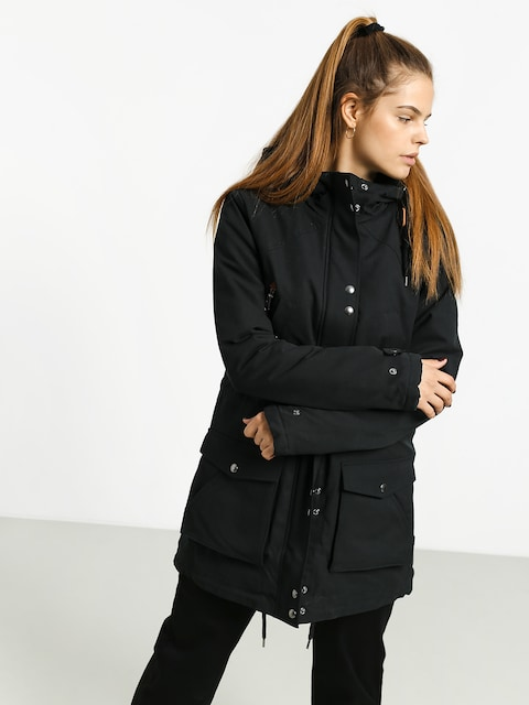 Bunda Volcom Walk On By 5K Parka Wmn (black)