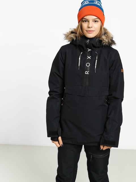 Snowboardová bunda Roxy Shelter Wmn (true black)