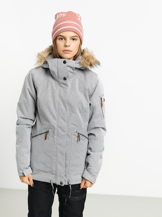Snowboardová bunda Roxy Meade Wmn (heather grey)