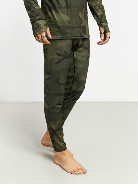 Spodné termoprádlo Burton Midweight Pant (worn camo)