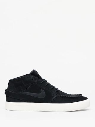 Topu00e1nky Nike SB Zoom Janoski Mid Crafted (black/black pale ivory)