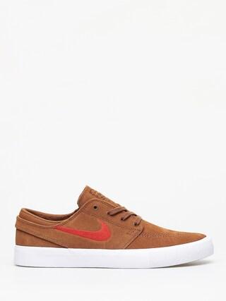 Topu00e1nky Nike SB Zoom Janoski Rm (lt british tan/mystic red white)