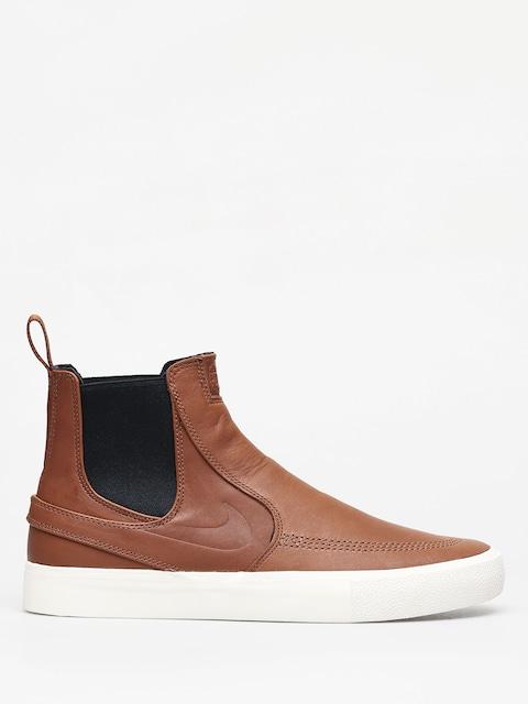 Topánky Nike SB Zoom Stefan Janoski Slip Mid Rm (lt british tan/lt british tan pale ivory)
