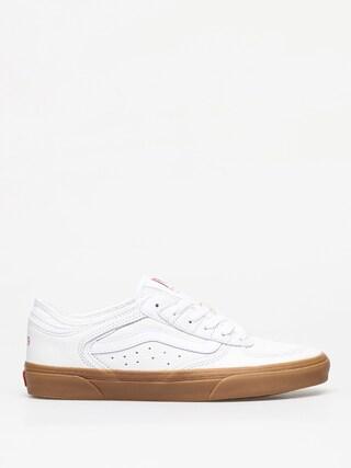 Topu00e1nky Vans Rowley Classic (true white/gum)