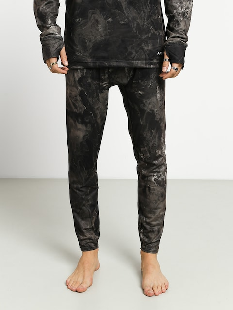 Spodné termoprádlo Burton Midweight Pant (marble galaxy print)