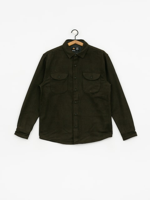 Košeľa Emerica Nicholson Wool Shirt (army)