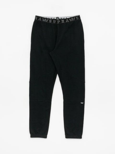 Nohavice Supra 92 Fleece (black)
