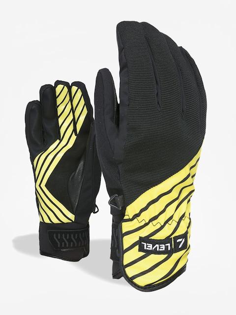 Rukavice Level Suburban Rider Issue (black yellow)
