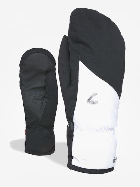 Rukavice Level Astra Mitt Gore Tex Wmn (black white)