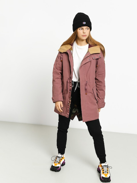 Bunda Burton Saxton Parka Wmn (rose brown)