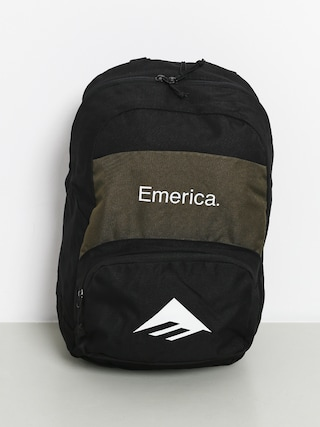 Batoh Emerica (black/green)