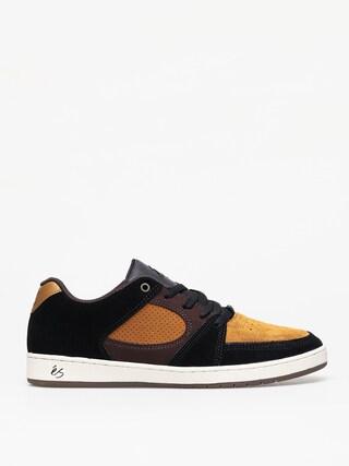 Topánky Es Accel Slim (black/brown)