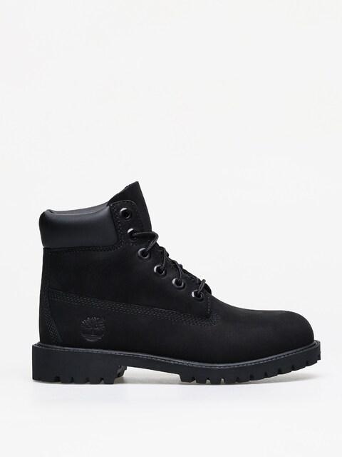 Zimné topánky Timberland 6 In Premium (black nubuck)