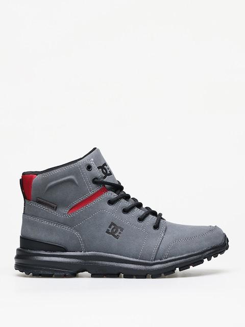 Zimné topánky DC Torstein (grey/black/red)