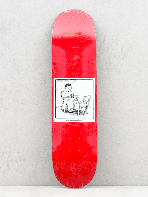 Doska Polar Skate Spilled Milk (red)