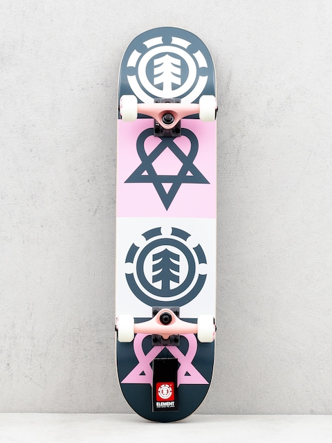 Skateboard Element Bam Heartagram Quad (assorted)