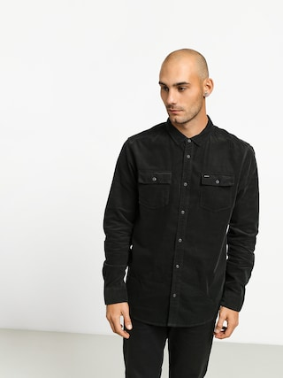 Kou0161eu013ea RVCA Freeman Cord Ls (pirate black)