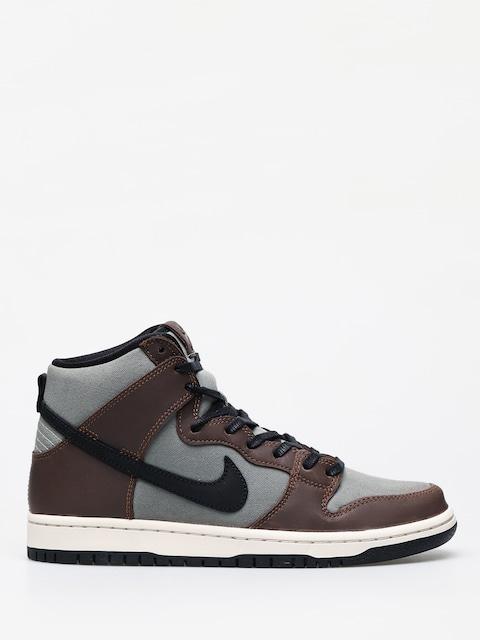 Topánky Nike SB Dunk High Pro (baroque brown/black jade horizon)