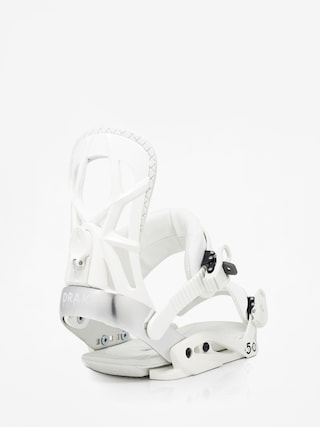 Snowboardovu00e9 viazanie Drake Fifty (white)