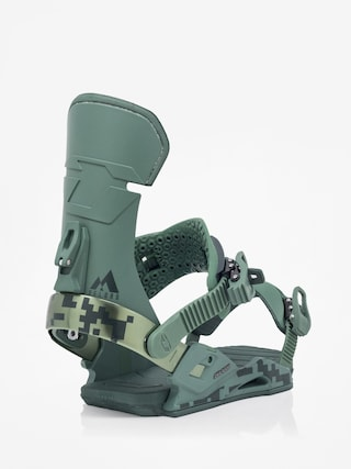Snowboardovu00e9 viazanie Drake Reload (green camo)
