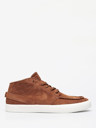 Topu00e1nky Nike SB Zoom Janoski Mid Crafted (lt british tan/lt british tan black)